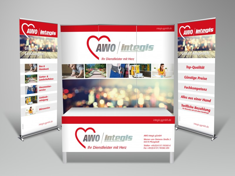 AWO Integis Messestand