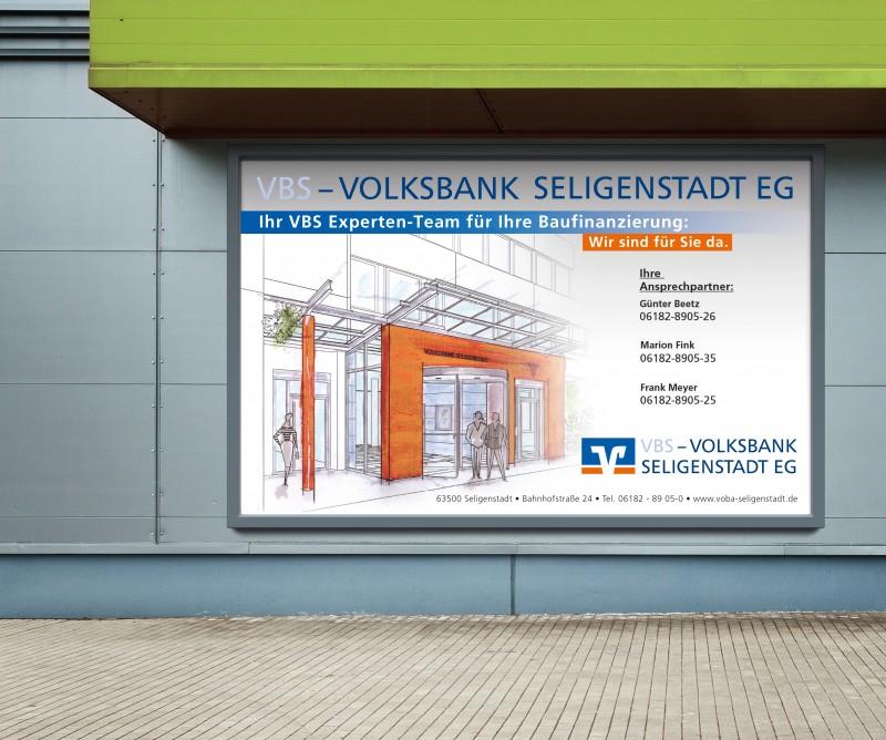 Volksbank Seligenstadt Plakat
